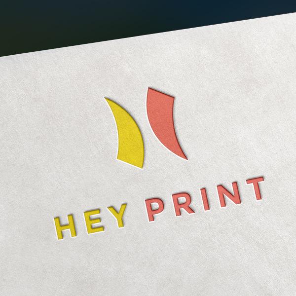 로고 + 명함 | 헤이프린트 BI 의뢰 | 라우드소싱 포트폴리오