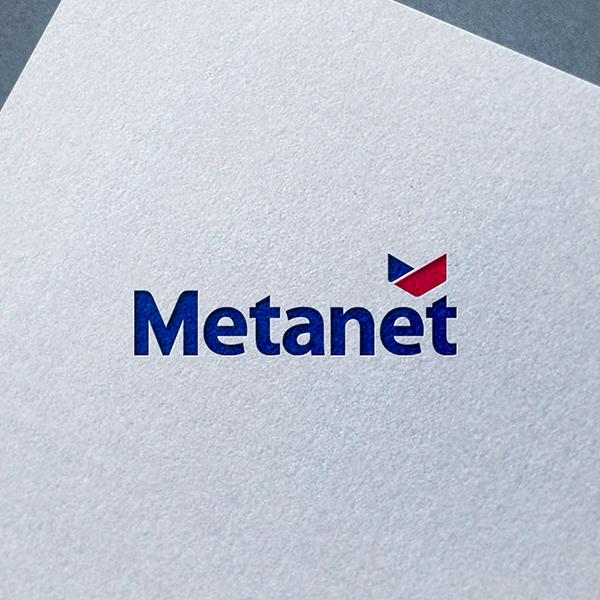 로고 디자인 | 메타넷 로고 심볼 디자인  | 라우드소싱 포트폴리오