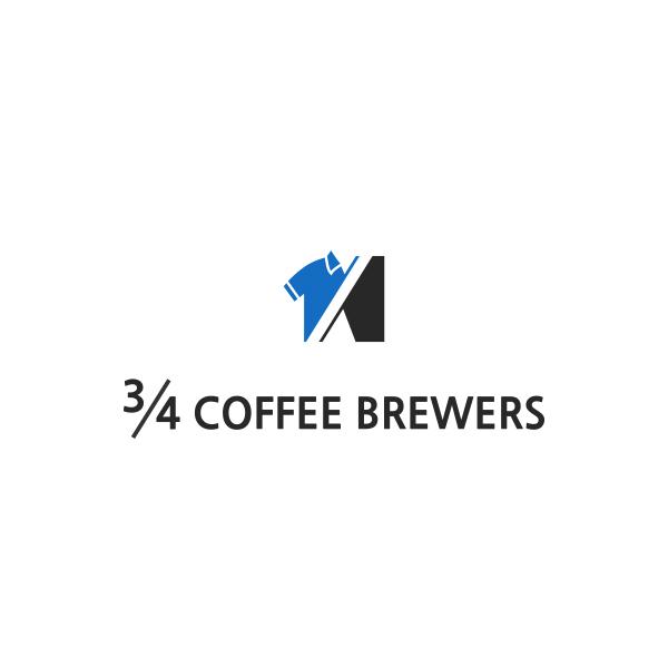 로고 + 명함 | 카페 3/4 커피브루어스... | 라우드소싱 포트폴리오