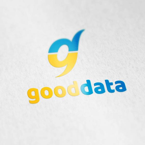 로고 + 명함 | 굿데이터코퍼레이션 | 라우드소싱 포트폴리오