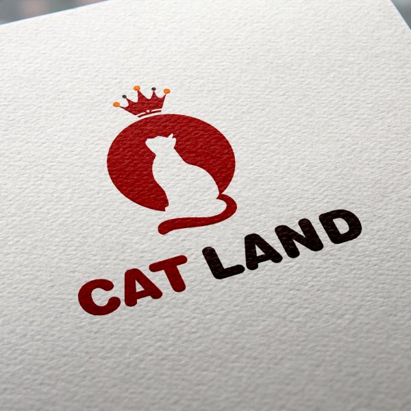 로고 디자인   고양이랜드 (catland)   라우드소싱 포트폴리오