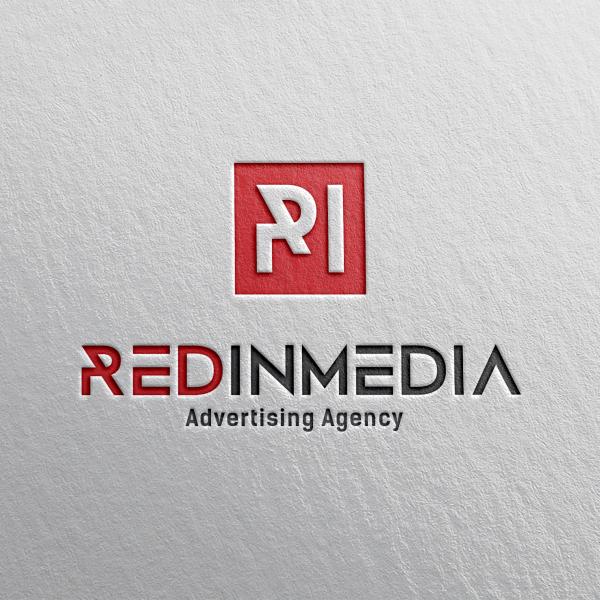 로고 + 명함 | (주) 레드인미디어 | 라우드소싱 포트폴리오