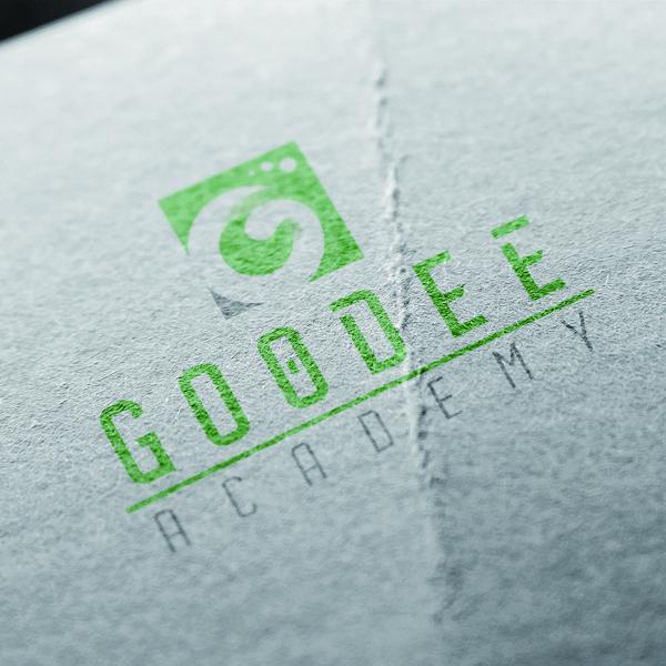 로고 + 명함 | Goodee Academy | 라우드소싱 포트폴리오