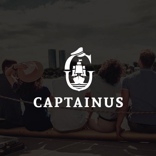 로고 디자인   CAPTAINUS(캡티너스)   라우드소싱 포트폴리오