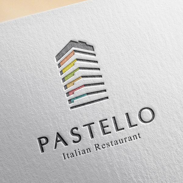 로고 + 간판 | 이탈리안 레스토랑 로고 ... | 라우드소싱 포트폴리오