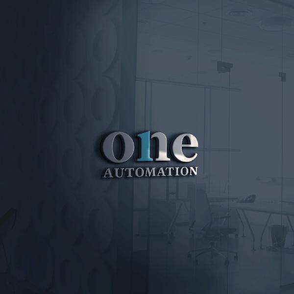 로고 + 명함   ONE AUTOMATION   라우드소싱 포트폴리오