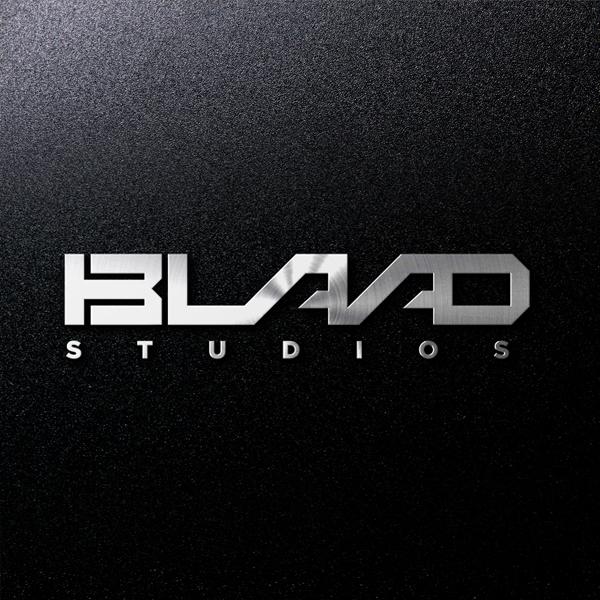 로고 + 명함   BLAAD STUDIOS   라우드소싱 포트폴리오