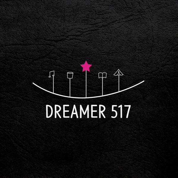 로고 + 간판 | DREAMER 517 카... | 라우드소싱 포트폴리오