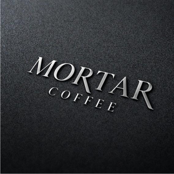 브랜딩 SET | mortar커피숍 로고디자인 | 라우드소싱 포트폴리오