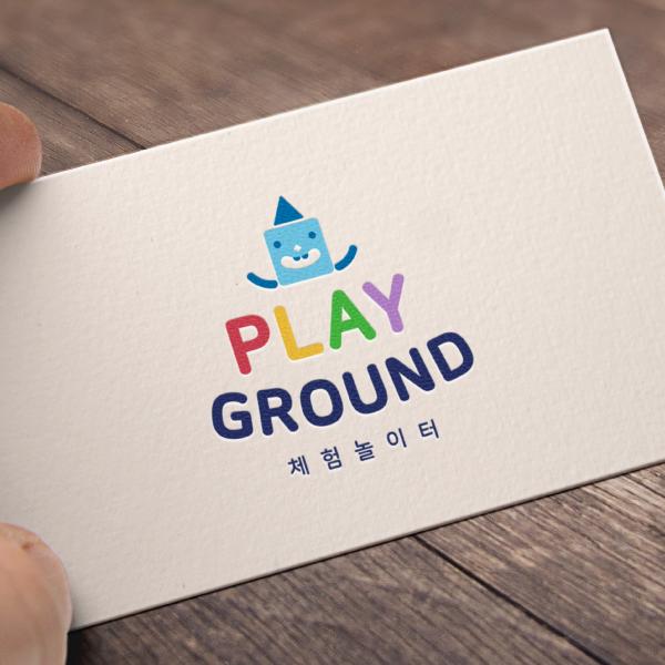 로고 + 명함 | Playground 체험놀이터  | 라우드소싱 포트폴리오