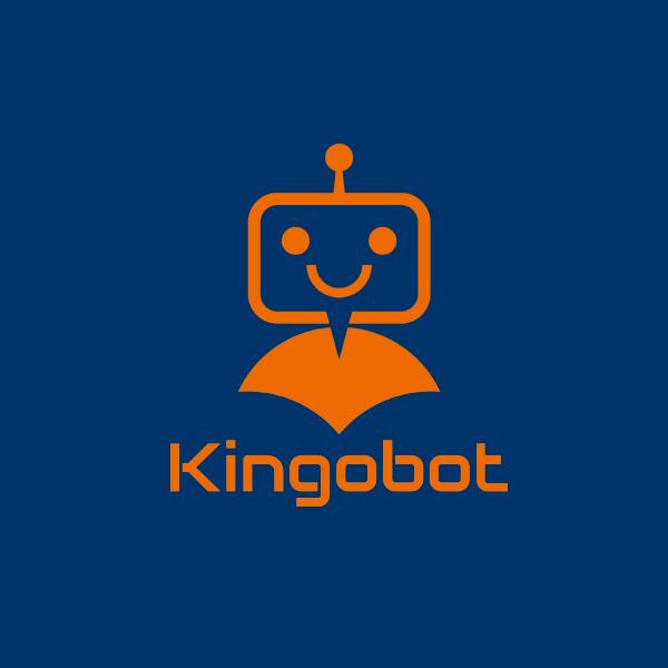 로고 디자인 | 킹고봇(Kingobot)... | 라우드소싱 포트폴리오