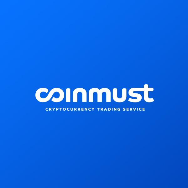 로고 디자인   COINMUST   라우드소싱 포트폴리오