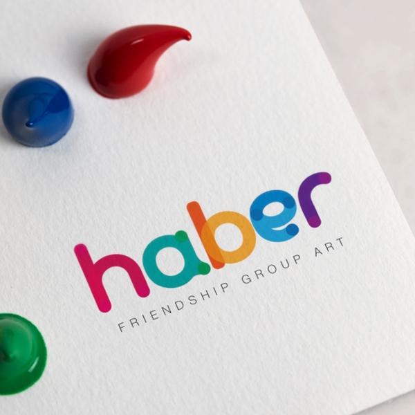 로고 디자인 | HABER ART (하베르아트) | 라우드소싱 포트폴리오