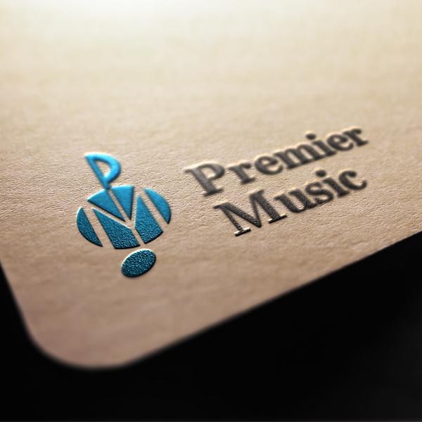로고 디자인 | Premier Music | 라우드소싱 포트폴리오