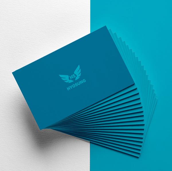 로고 디자인   효성피싱   라우드소싱 포트폴리오