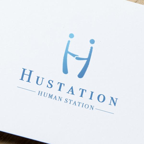 로고 + 명함   휴스테이션(Hustation ...   라우드소싱 포트폴리오