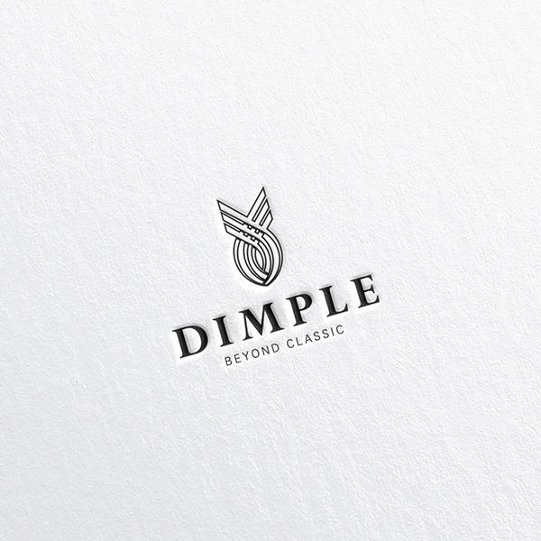 로고 디자인   딤플   라우드소싱 포트폴리오
