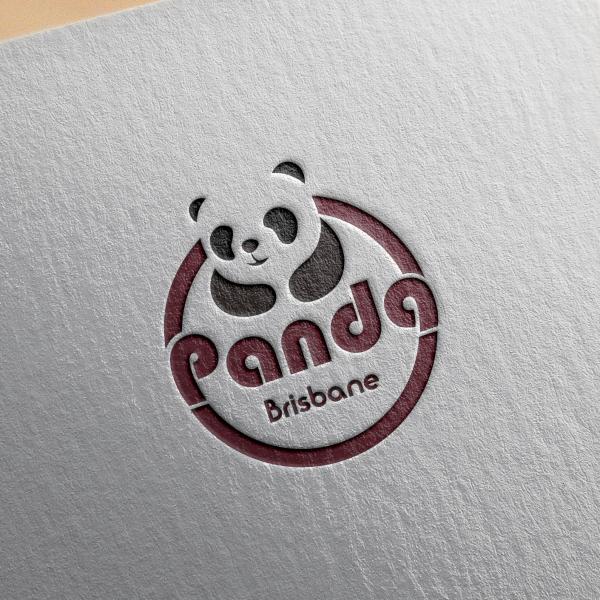 로고 + 간판   Panda Brisbane   라우드소싱 포트폴리오