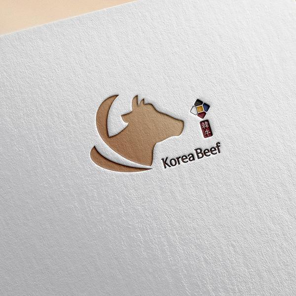 로고 디자인 | (주)코리아푸드 | 라우드소싱 포트폴리오
