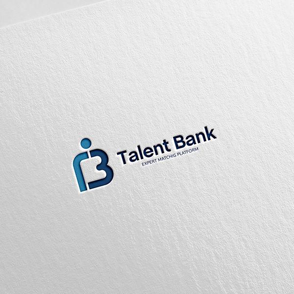 로고 디자인 | 탤런트뱅크 (TalentBank) | 라우드소싱 포트폴리오
