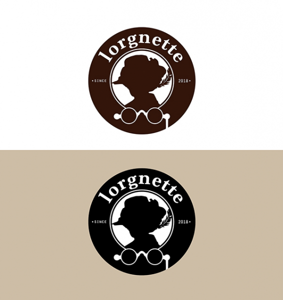 로고 디자인 | lorgnette 로고디... | 라우드소싱 포트폴리오