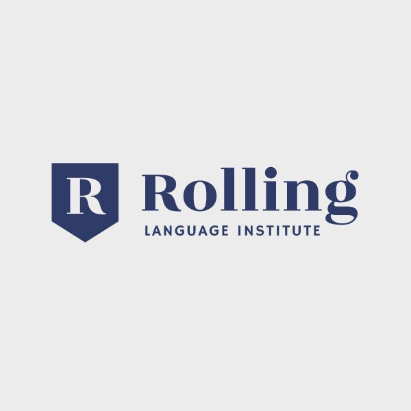 로고 디자인 | 롤링어학원 | 라우드소싱 포트폴리오