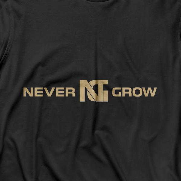 로고 디자인 | NEVERGROW 로고 ... | 라우드소싱 포트폴리오