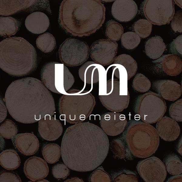 로고 + 명함 | 유니크마이스터 목공아카데... | 라우드소싱 포트폴리오