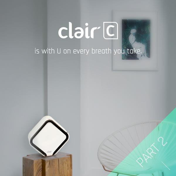 광고용 웹페이지 | 클레어 큐브 공기청정기 ... | 라우드소싱 포트폴리오