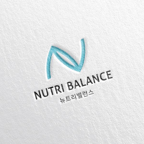 로고 + 명함 | 뉴트리밸런스 (nutri ba... | 라우드소싱 포트폴리오