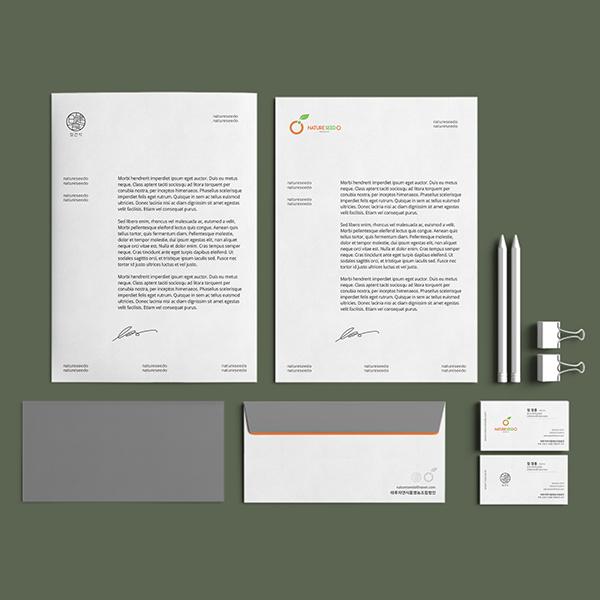 명함 / 봉투 | 명함 및 봉투 디자인 의뢰 | 라우드소싱 포트폴리오