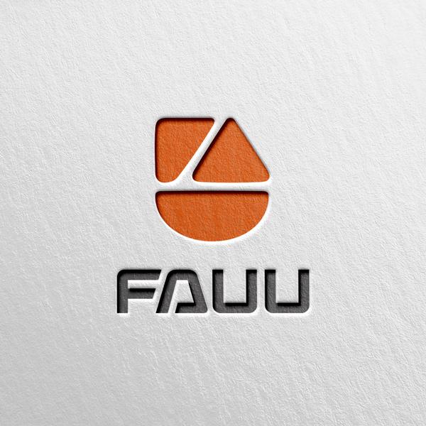 로고 + 명함 | (주)파우그룹 로고 및 ... | 라우드소싱 포트폴리오