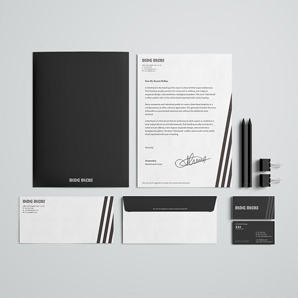 기타 디자인 | 빌딩블럭스 서식류, 명함... | 라우드소싱 포트폴리오