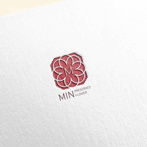 로고 디자인   민 프리저브드플라워(천일동안 ...   라우드소싱 포트폴리오