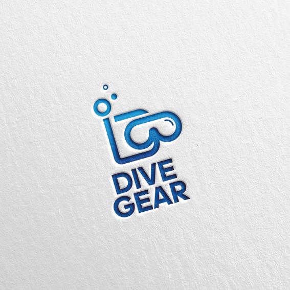 로고 디자인   DIVE GEAR (다이브기어)   라우드소싱 포트폴리오