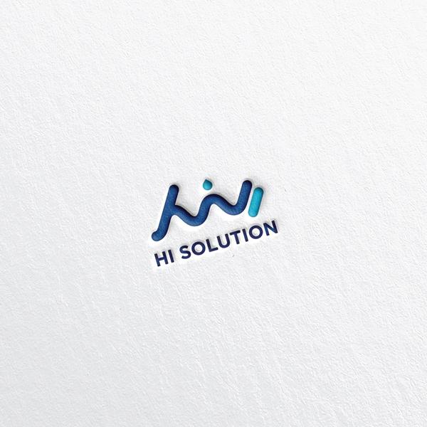 로고 + 명함   (주)하이솔루션, HI Sol...   라우드소싱 포트폴리오