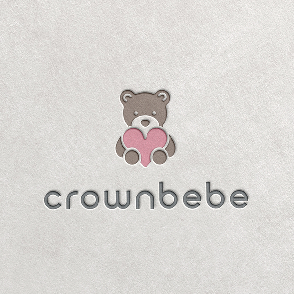 로고 + 명함   크라운베베   라우드소싱 포트폴리오