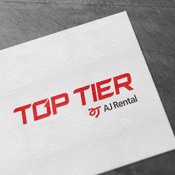 로고 + 명함 | AJ Rental  | 라우드소싱 포트폴리오