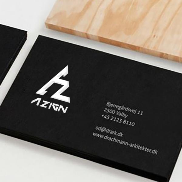 로고 + 명함 | 에이자인 | 라우드소싱 포트폴리오