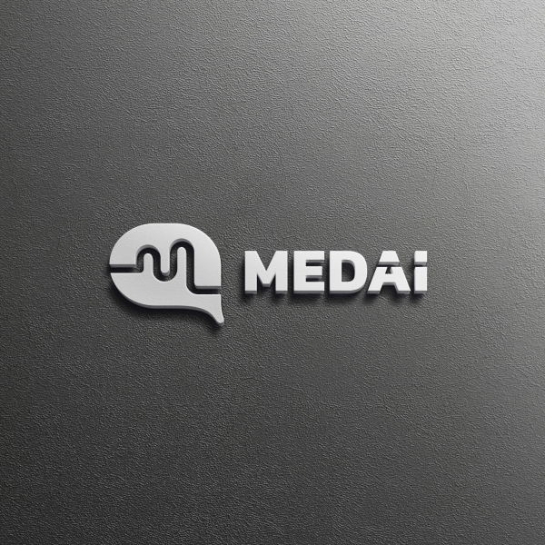로고 + 명함   메드아이   라우드소싱 포트폴리오