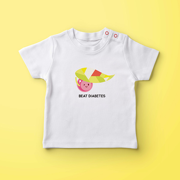 기타 디자인 | 아동돕기 캠페인 일러스트 | 라우드소싱 포트폴리오