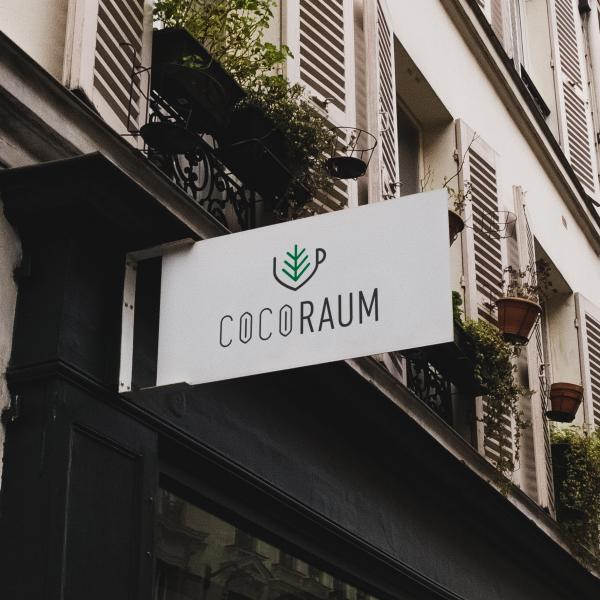 로고 + 간판 | 코코라움 [COCORAU... | 라우드소싱 포트폴리오