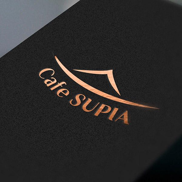 로고 + 간판 | 한옥카페 수피아 로고 &... | 라우드소싱 포트폴리오