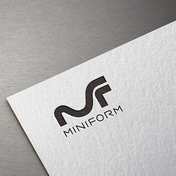 로고 디자인 | Miniform 로고 디... | 라우드소싱 포트폴리오