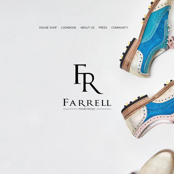 로고 디자인 | 파렐(Farrell) | 라우드소싱 포트폴리오