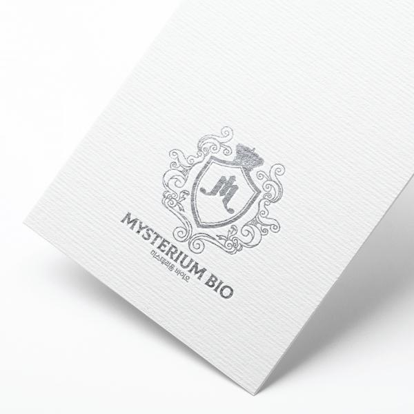 로고 + 명함   미스테리움 바이오   라우드소싱 포트폴리오