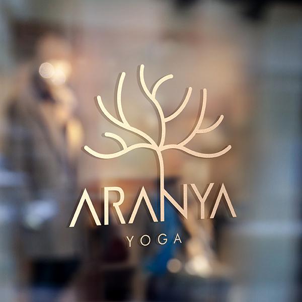 로고 디자인   aranya yoga   라우드소싱 포트폴리오
