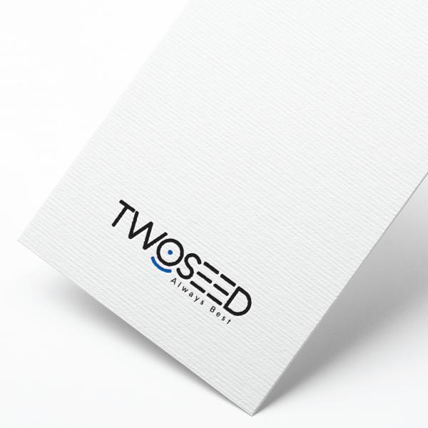 로고 + 명함   (주)투씨드 (TwoSeed)   라우드소싱 포트폴리오