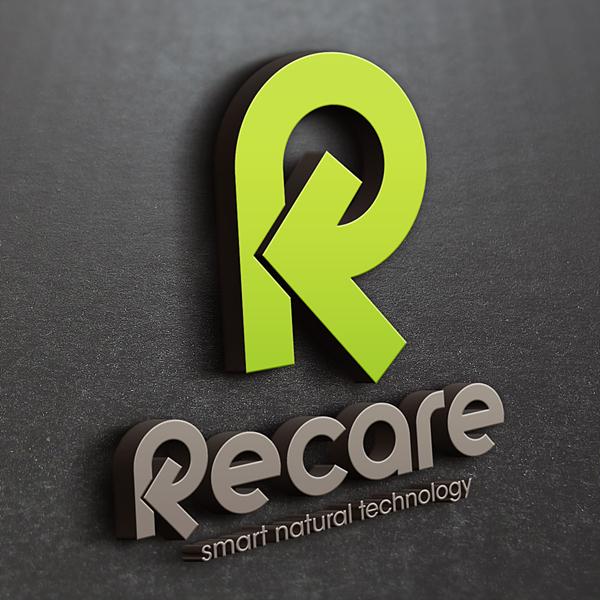 로고 디자인   리케어 / re-care   라우드소싱 포트폴리오