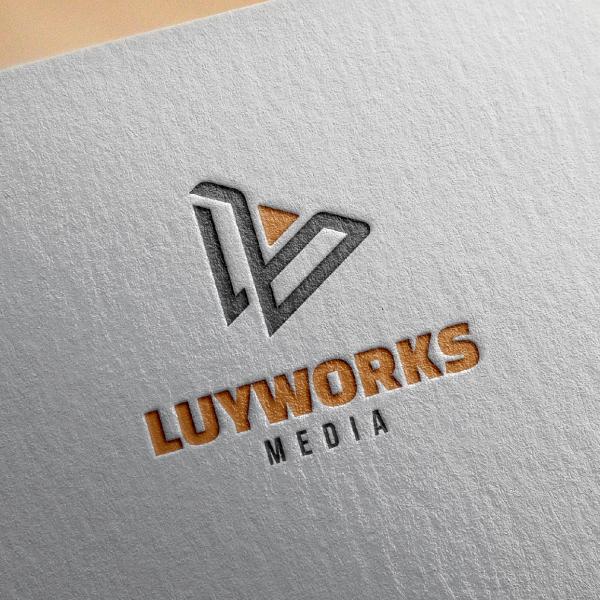 로고 + 명함 | (주)루이웍스미디어 로고... | 라우드소싱 포트폴리오